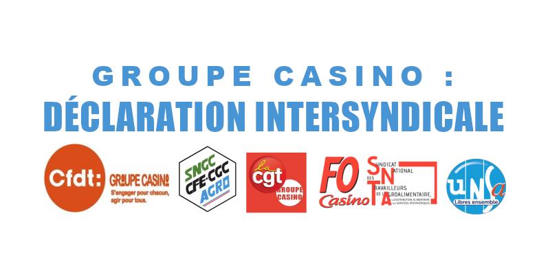 Rupture du dialogue social dans le groupe Casino